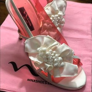 Bridal or special occasion shoes